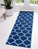 2' x 10' Trellis Frieze Runner Rug thumbnail