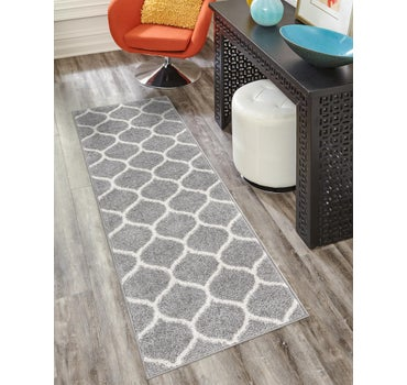 2' x 8' 8 Trellis Frieze Runner Rug main image