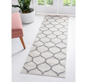 2' x 13' Trellis Frieze Runner Rug main image