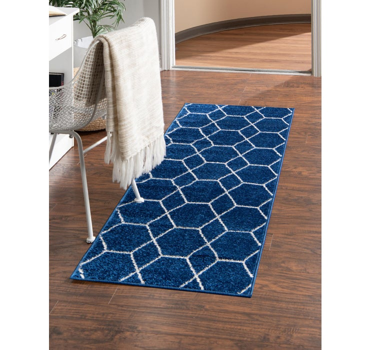 2' x 10' Trellis Frieze Runner Rug
