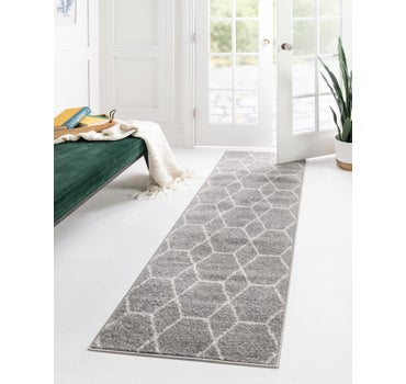 2' x 10' Trellis Frieze Runner Rug main image