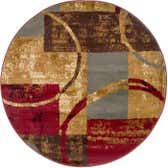 4' x 4' Coffee Shop Round Rug thumbnail