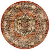 4' x 4' Arcadia Round Rug thumbnail