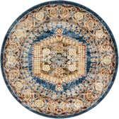 122cm x 122cm Arcadia Round Rug thumbnail