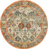 3' 3 x 3' 3 Venice Round Rug thumbnail