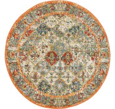 3' 3 x 3' 3 Venice Round Rug main image
