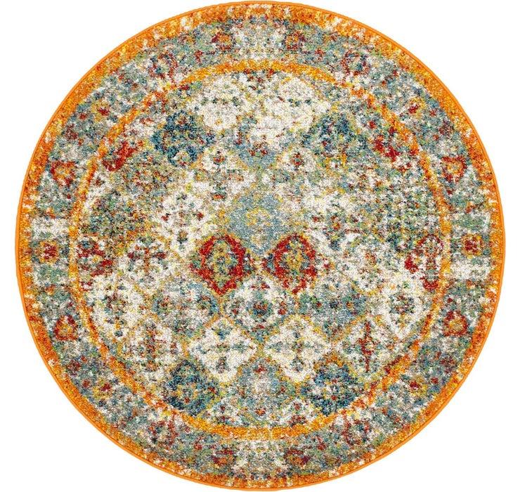 4' x 4' Venice Round Rug