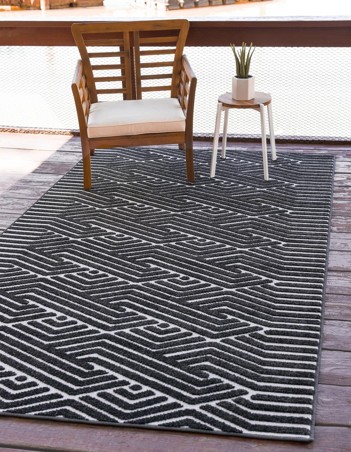 1' 8 x 1' 8 Sabrina Soto Outdoor Sample Rug main image