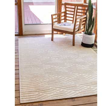 Image of  Beige Sabrina Soto Outdoor Rug