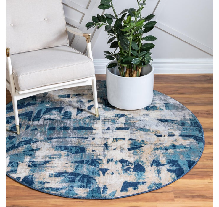 Image of 152cm x 152cm Ethereal Round Rug