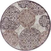 4' x 4' Chesterfield Round Rug thumbnail