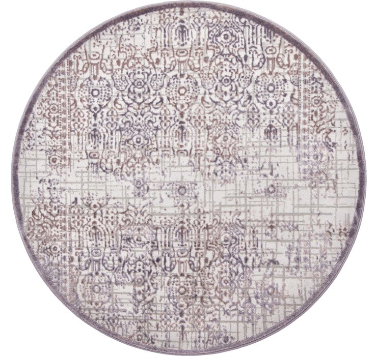 4' x 4' Chesterfield Round Rug