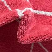 8' x 8' Trellis Frieze Round Rug thumbnail
