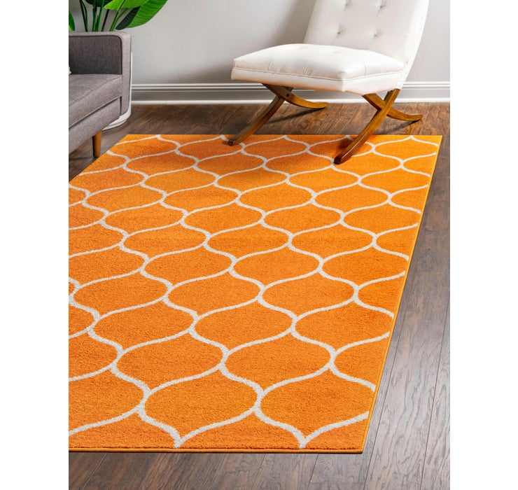 Image of 275cm x 365cm Trellis Frieze Rug