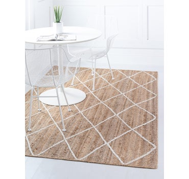 5' x 8' Braided Jute Rug main image
