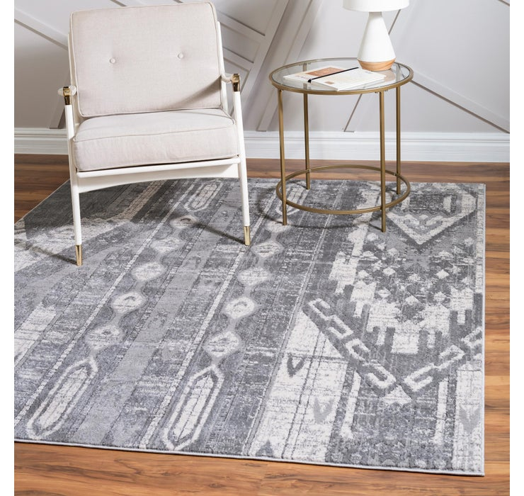 Image of  4' x 4' Oregon Square Rug
