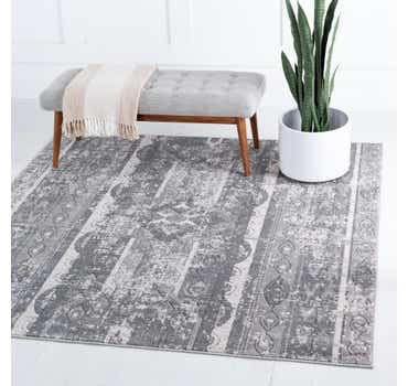 Image of  Gray Oregon Square Rug