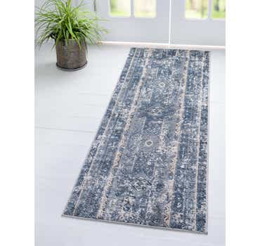 Blue Oregon Runner Rug