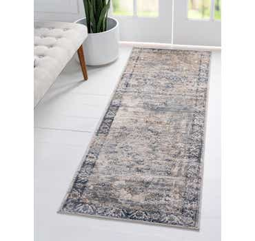 Gray Oregon Runner Rug