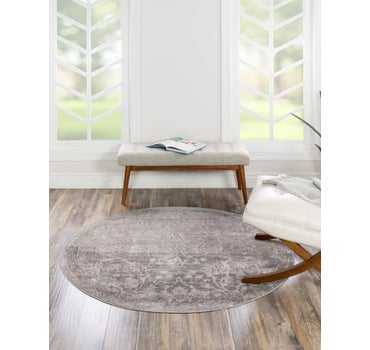 5' x 5' Oregon Round Rug main image