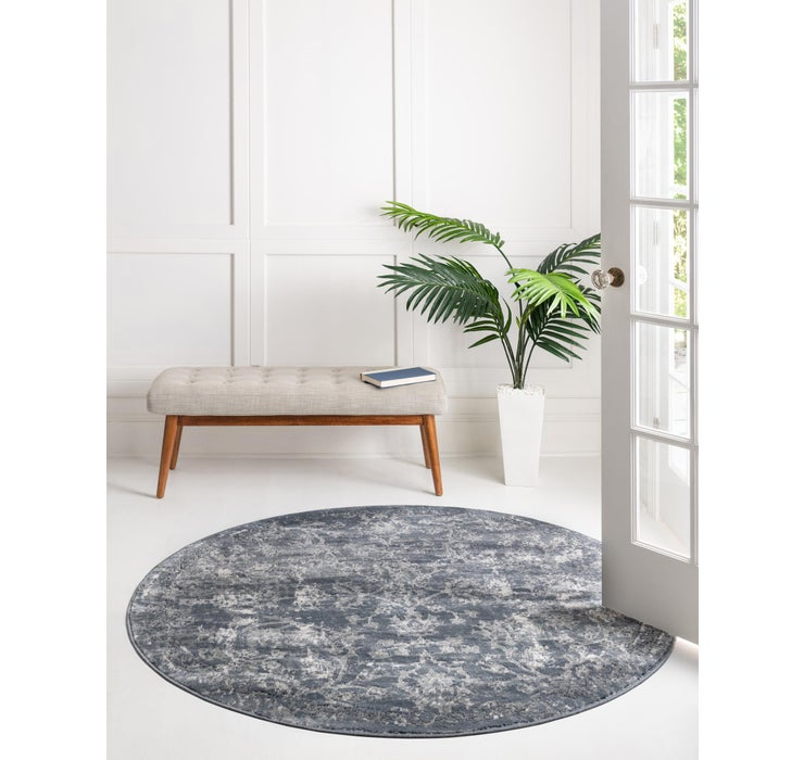 Image of 152cm x 152cm Oregon Round Rug