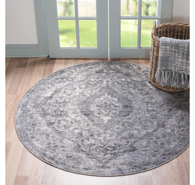 Image of 3' 3 x 3' 3 Oregon Round Rug