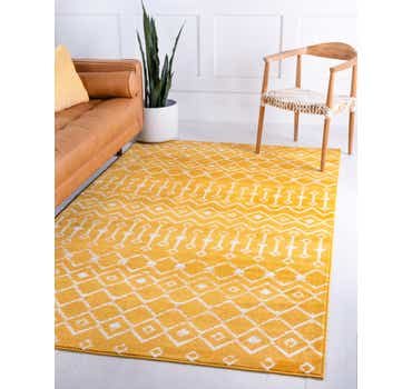 Image of  Yellow Kasbah Trellis Rug