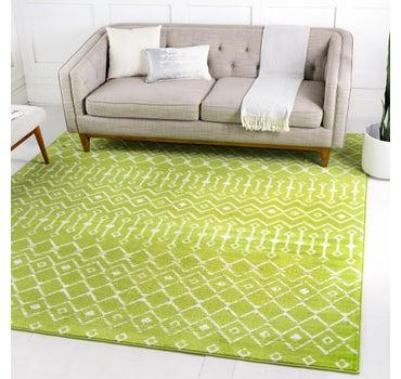 8' x 8' Kasbah Trellis Square Rug main image