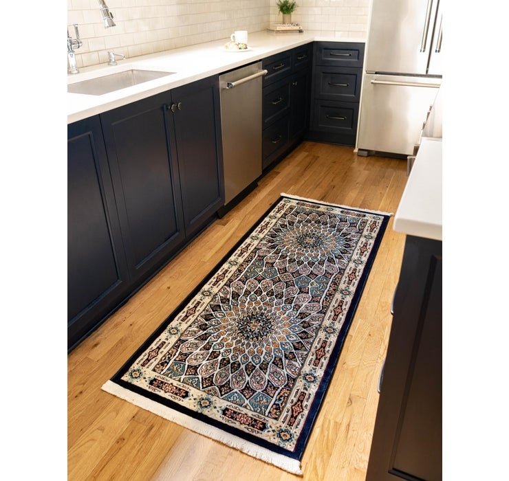 2' 6 x 6' Nain Design Runner Rug