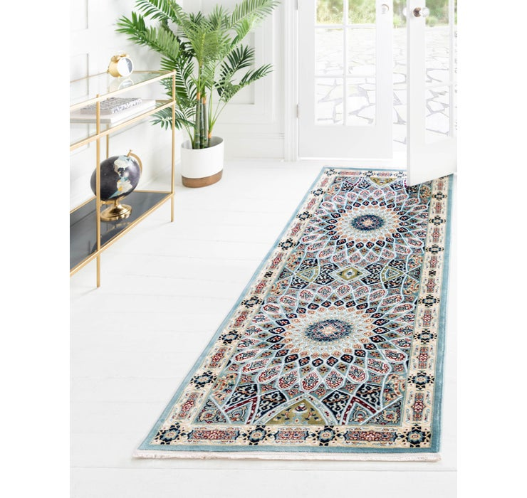 2' 6 x 8' Nain Design Runner Rug