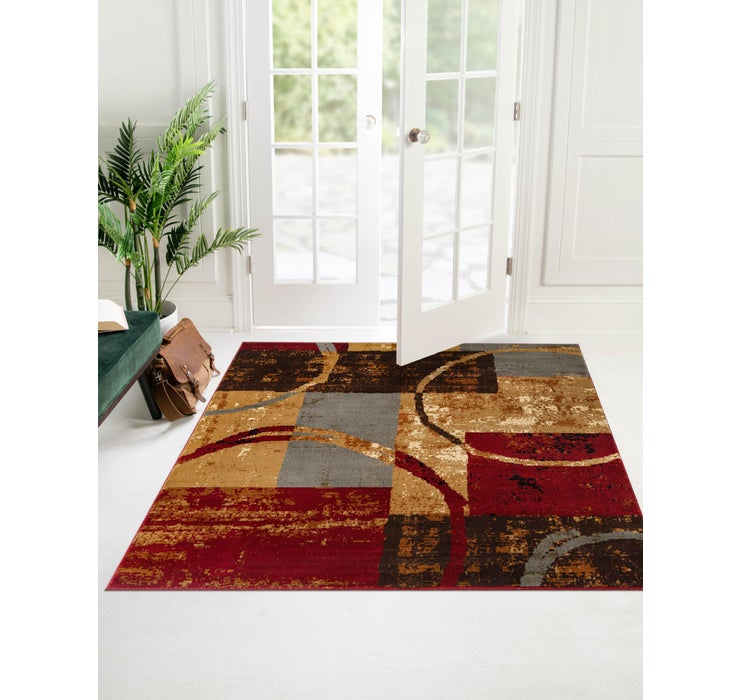 122cm x 122cm Coffee Shop Square Rug