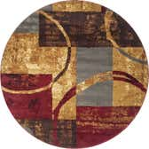 6' x 6' Coffee Shop Round Rug thumbnail