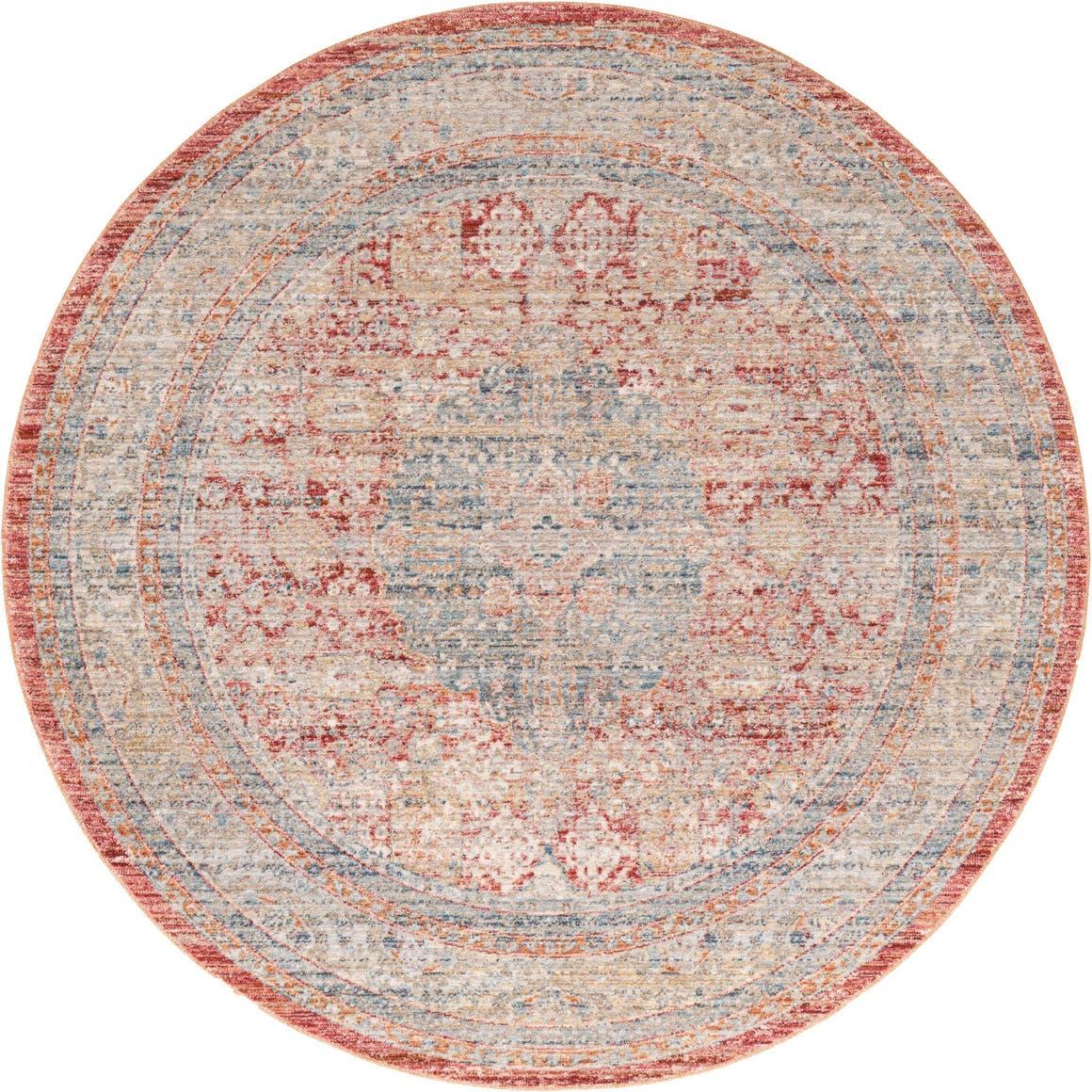 5' 3 x 5' 3 Noble Round Rug main image