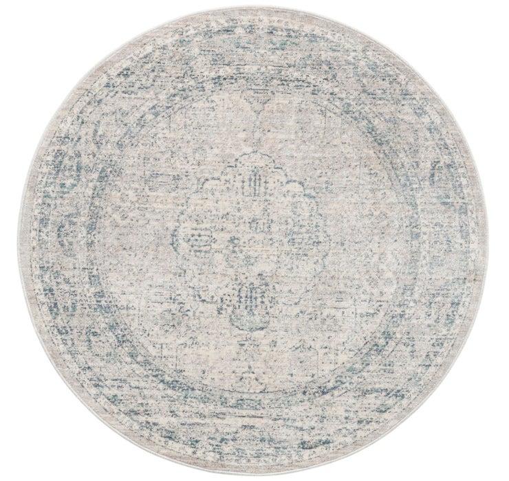 122cm x 122cm Noble Round Rug