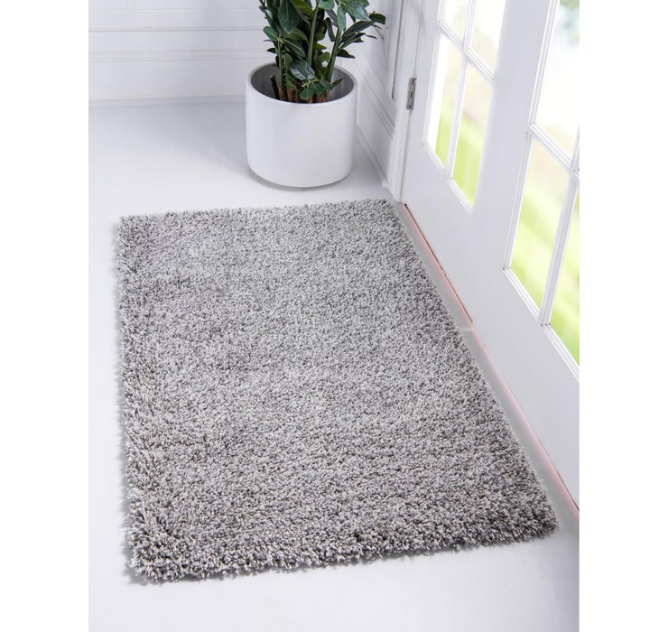 80cm x 122cm Luxe Solid Shag Rug