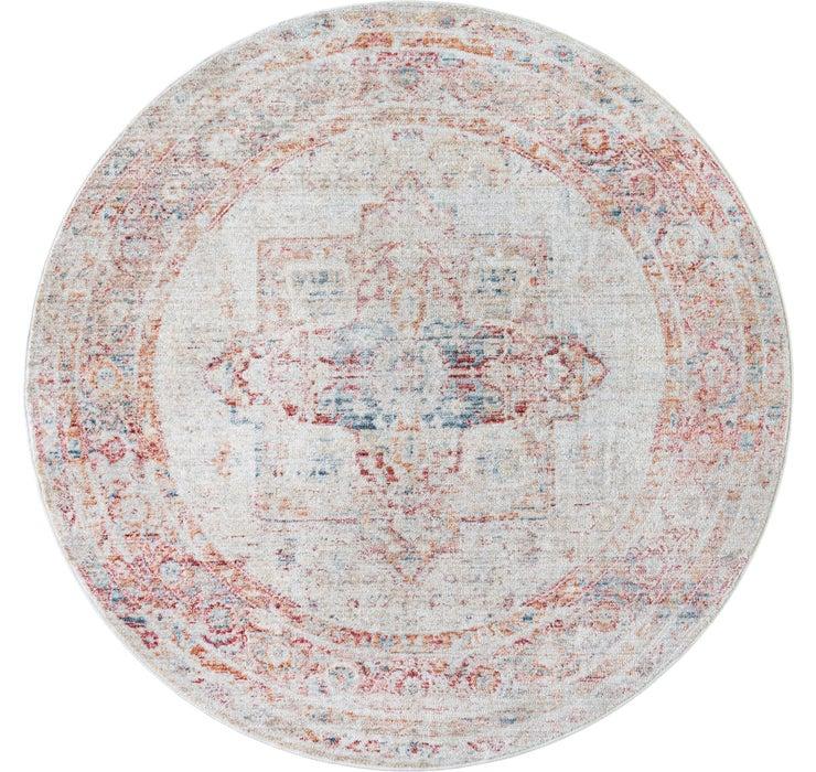 Image of 122cm x 122cm Noble Round Rug