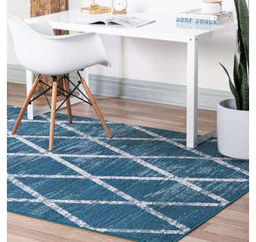 Image of  Navy Blue Starlight Rug