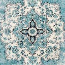 Link to Turquoise of this rug: SKU#3148303