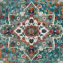 Link to Turquoise of this rug: SKU#3148349