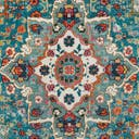 Link to Turquoise of this rug: SKU#3148337