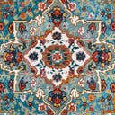 Link to Turquoise of this rug: SKU#3148352