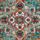 Link to Turquoise of this rug: SKU#3148353