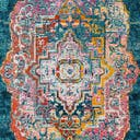 Link to Turquoise of this rug: SKU#3148366