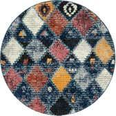 4' x 4' Morocco Round Rug thumbnail