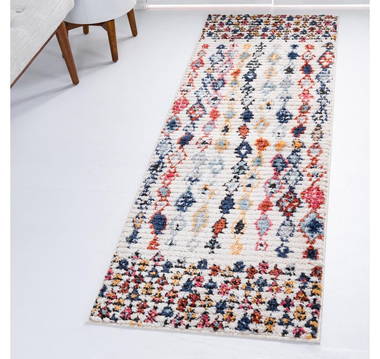 Image of 2' 2 x 6' Morocco Runner Rug