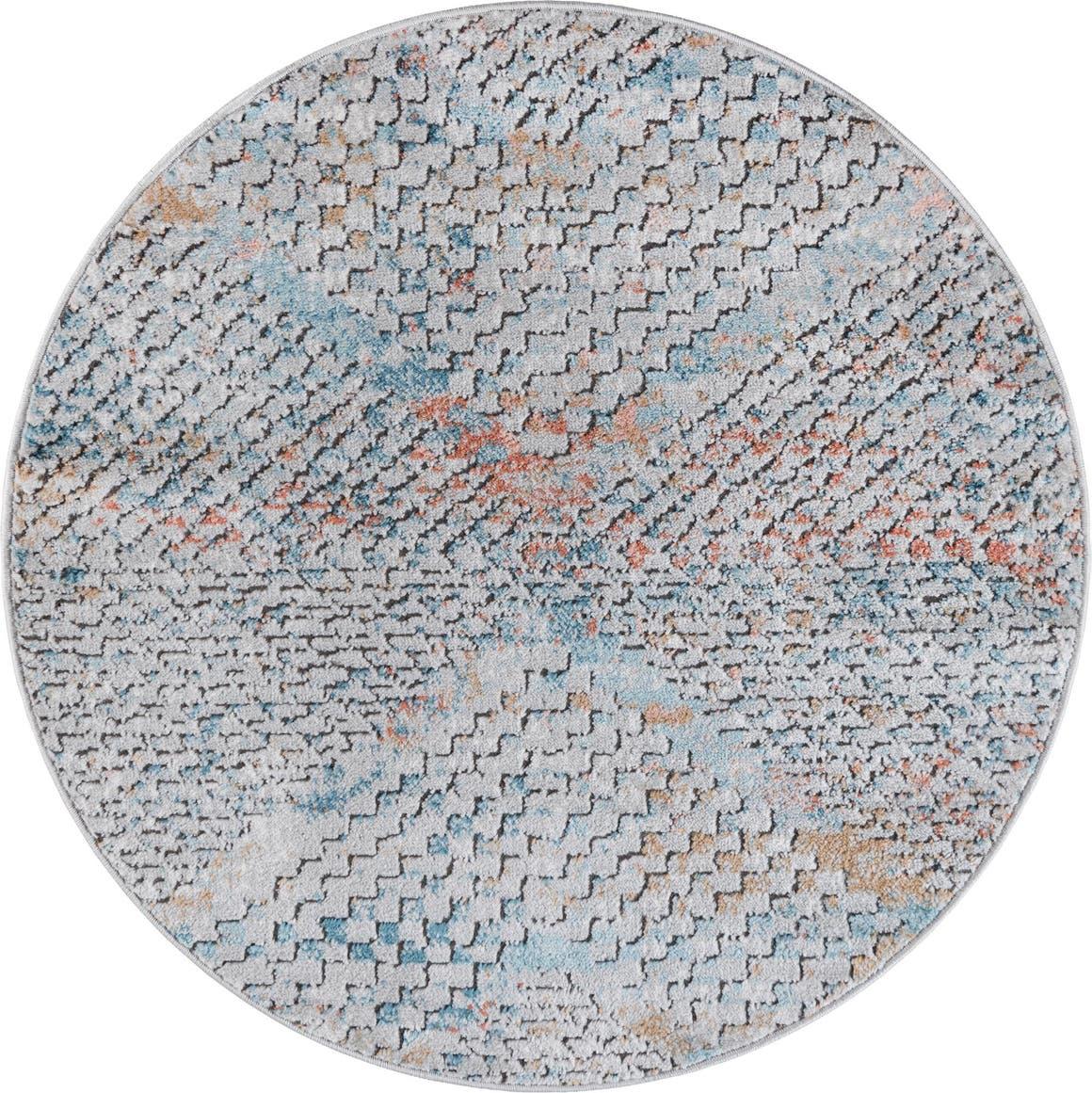3' 3 x 3' 3 Leipzig Round Rug main image