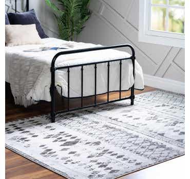 Image of  Gray Leipzig Rug
