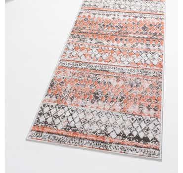 Image of  Salmon Leipzig Runner Rug