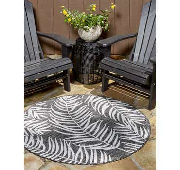 Charcoal Outdoor Botanical Round...