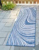 2' x 6' Outdoor Modern Runner Rug thumbnail